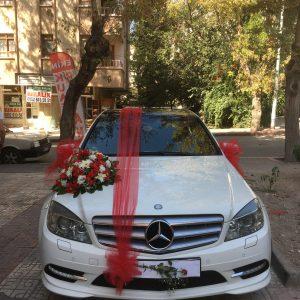 Ankara Yenimahalle Gelin arabası süslemesi ,