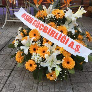 ankara çiçekçi sepette arajman