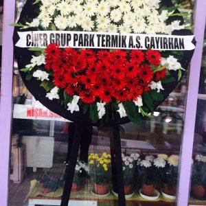 ankara cenaze çelengi-karşıyaka mezarlığı