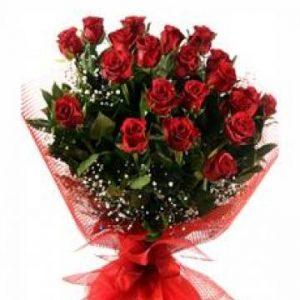 21 ADET KIRMIZI GÜL BUKETYenimahalle Çiçek Siparişi (Ankara) - Çiçek-ankara