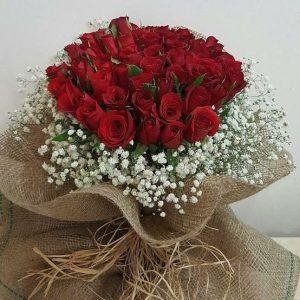 kız isteme nişan çiçeği kırmızı güller- yenimahalle çiçek