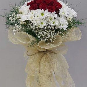 Yenimahalle Çiçek Siparişi (Ankara) -Papatya ve gül buketi