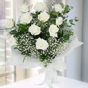 Yenimahalle çiçek siparişi ,Ankara Beyaz Gül Buketi